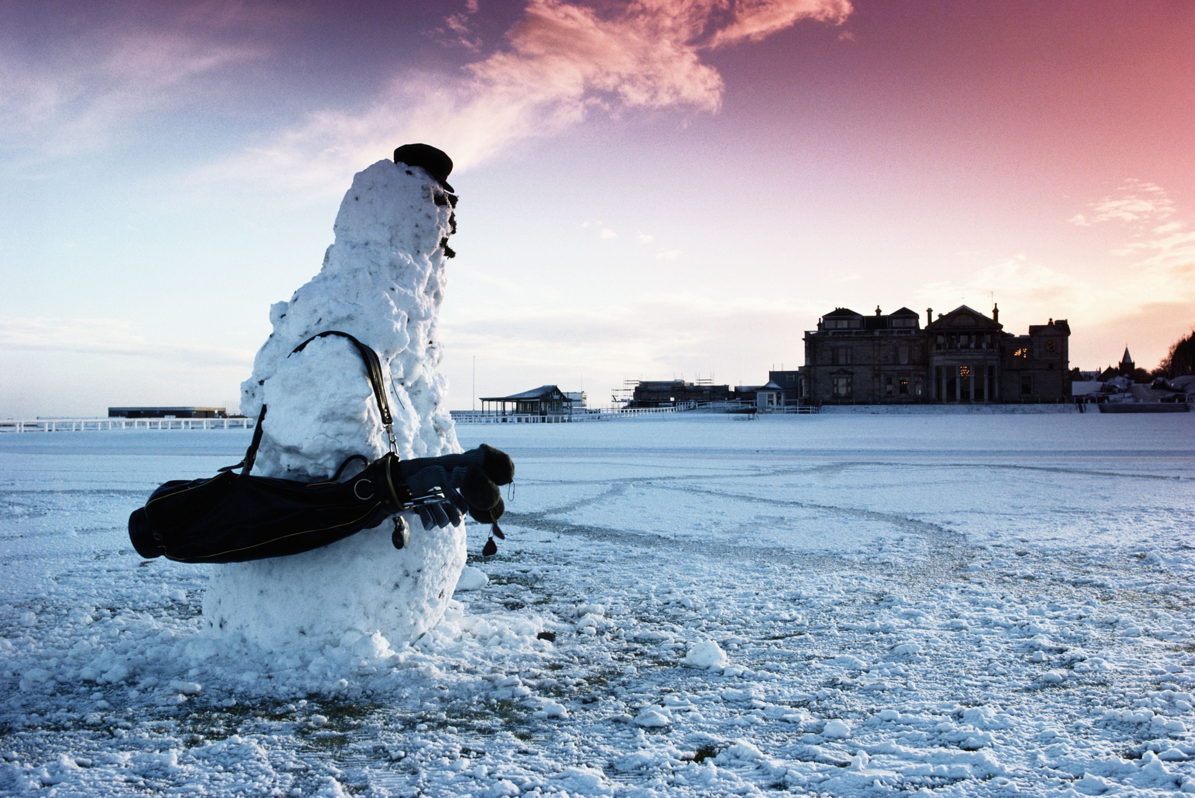 Golfs Dreaded Snowman And When It Becomes A Blizzard