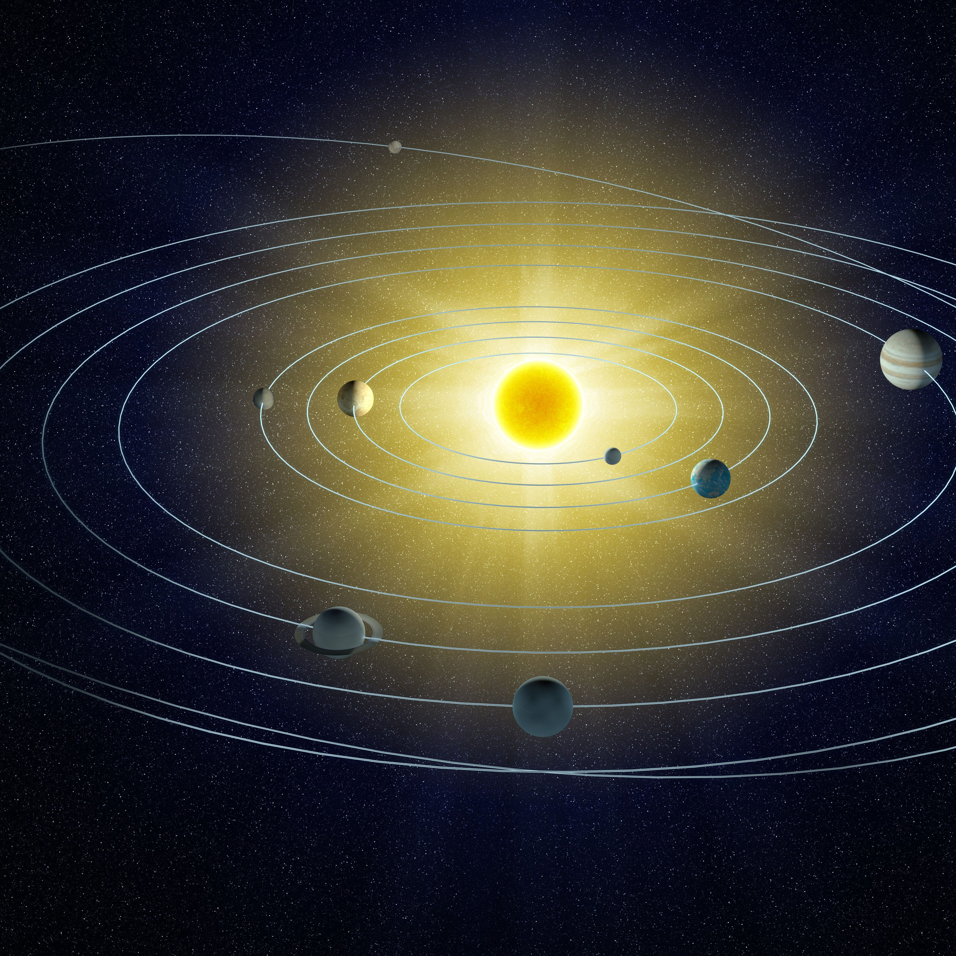 Scale Model Of The Solar System Using Sports Balls