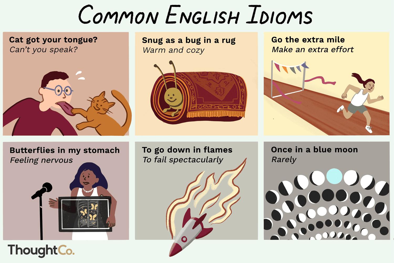 40 Common English Idioms