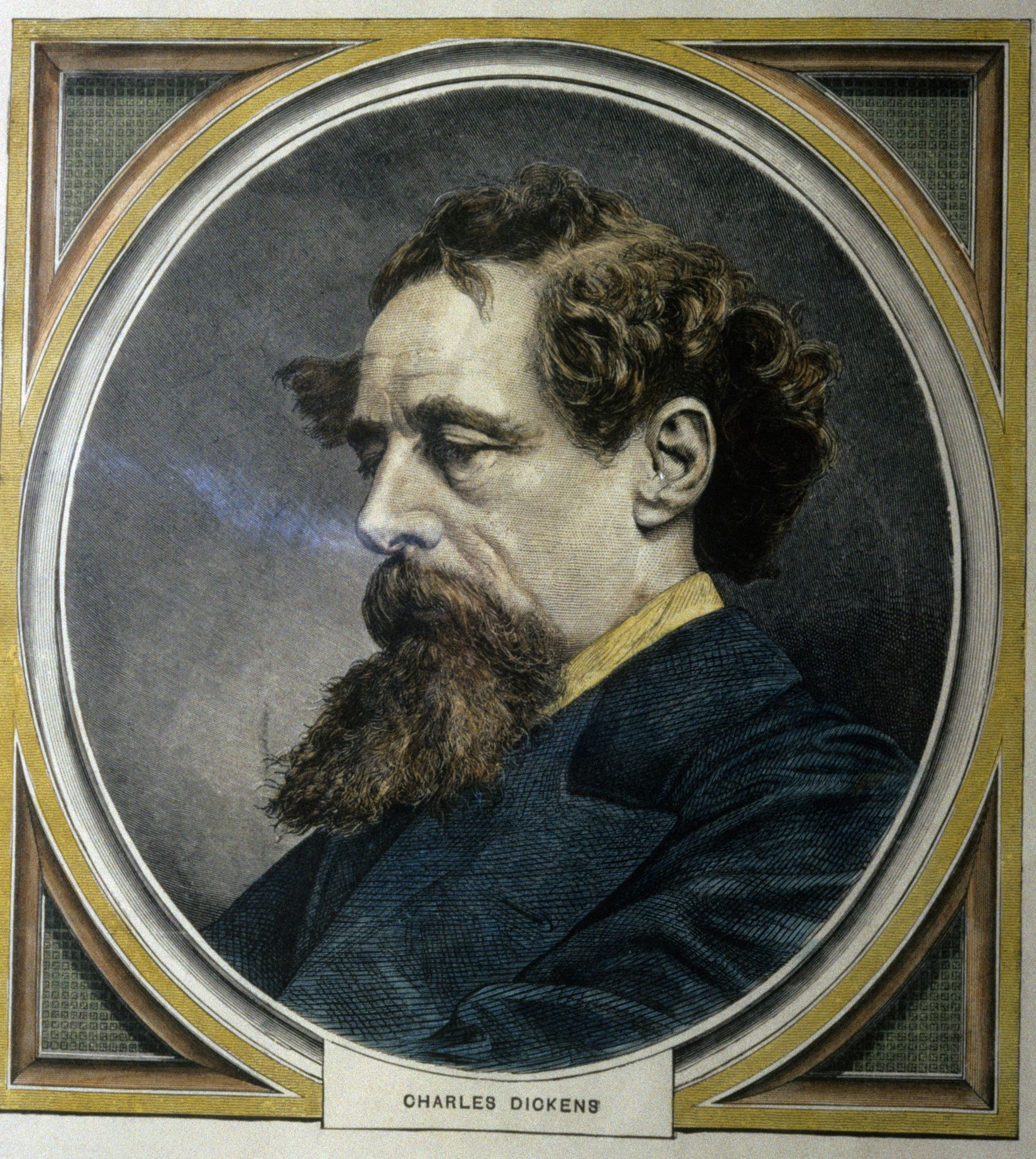 Biography Of Victorian Novelist Charles Dickens