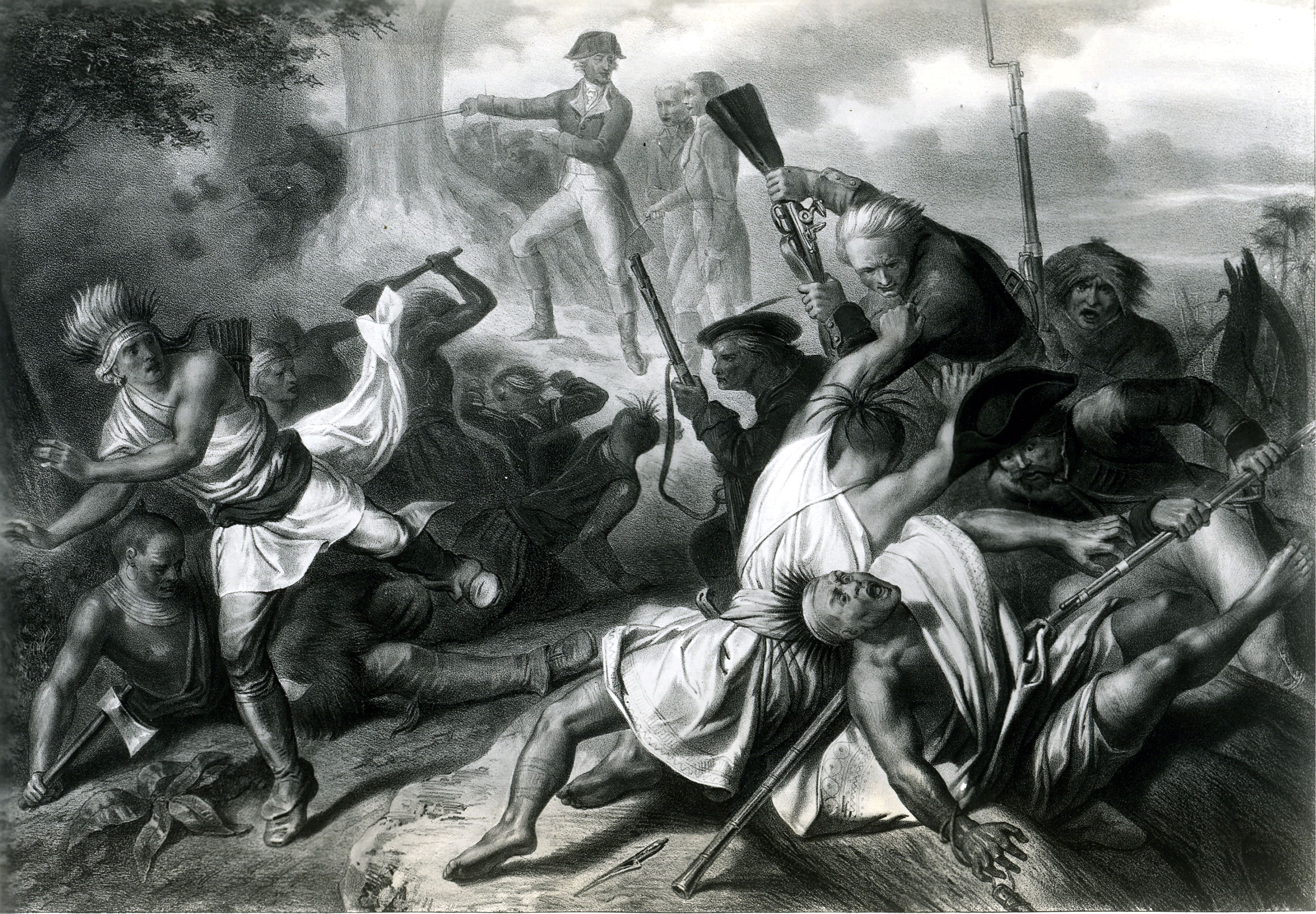 Battle Of Fort Necessity In The French And Indian War