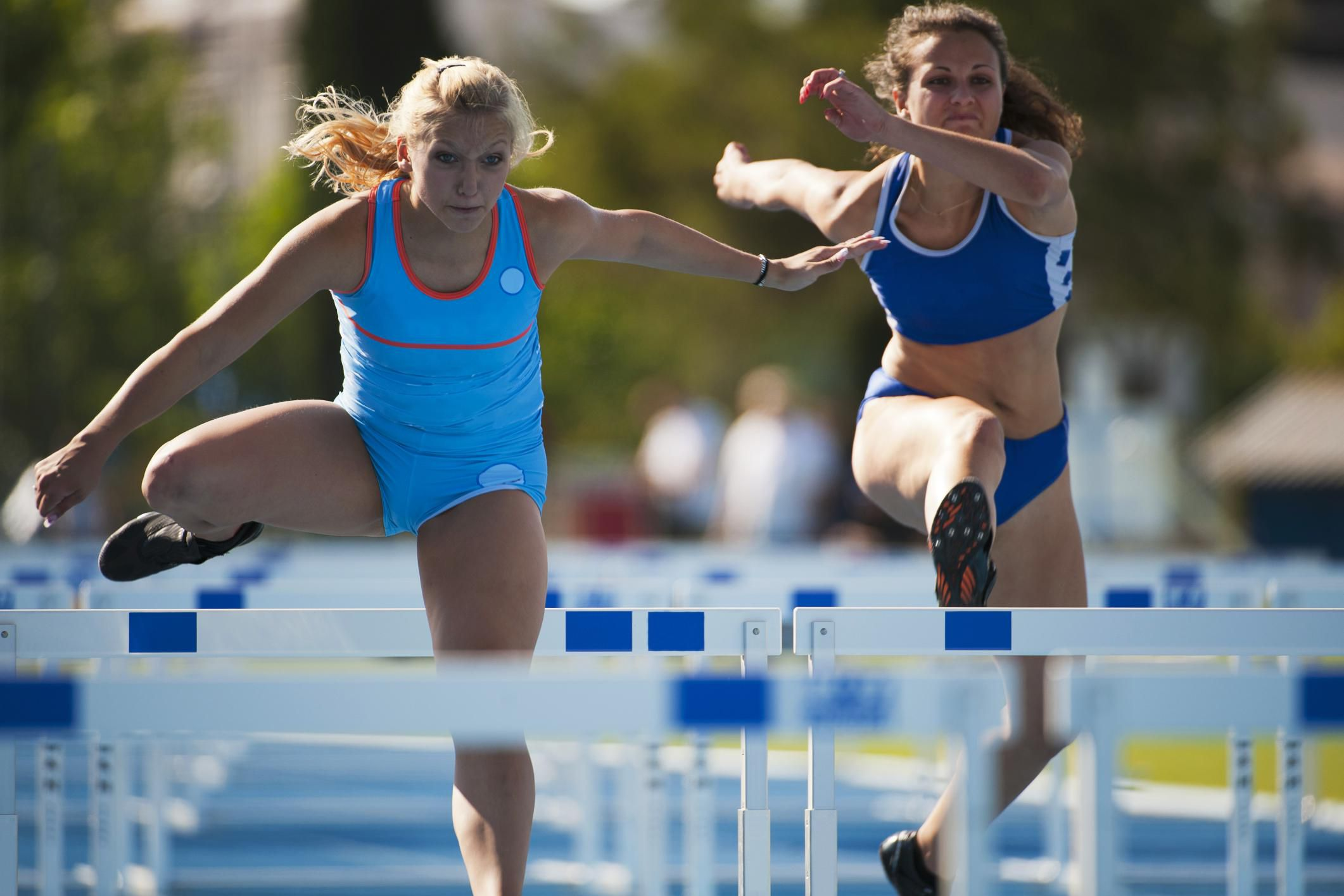 Learning Track And Field Hurdles For Beginners
