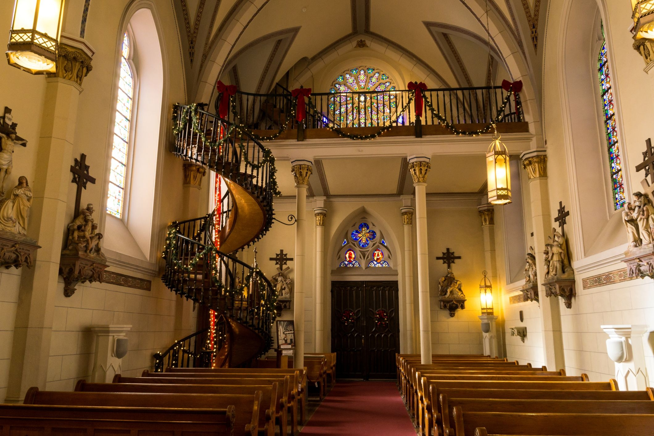 The Loretto Chapel S Miraculous Staircase   Stairs Of Loretto Chapel