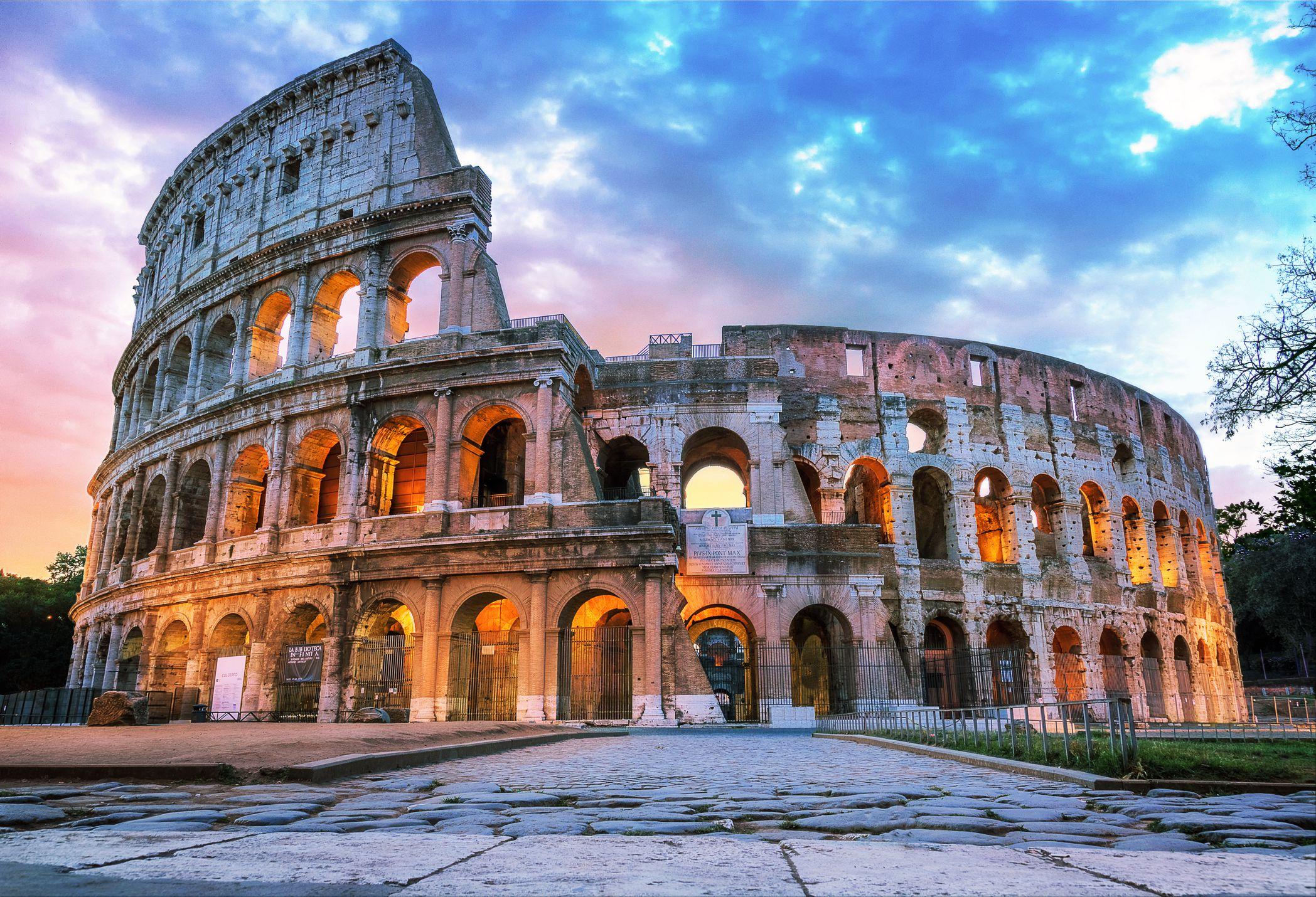 The Ancient City Of Rome Has Many Nicknames