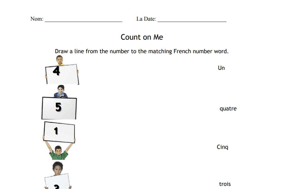 17 Free French Worksheets To Test Your Knowledge