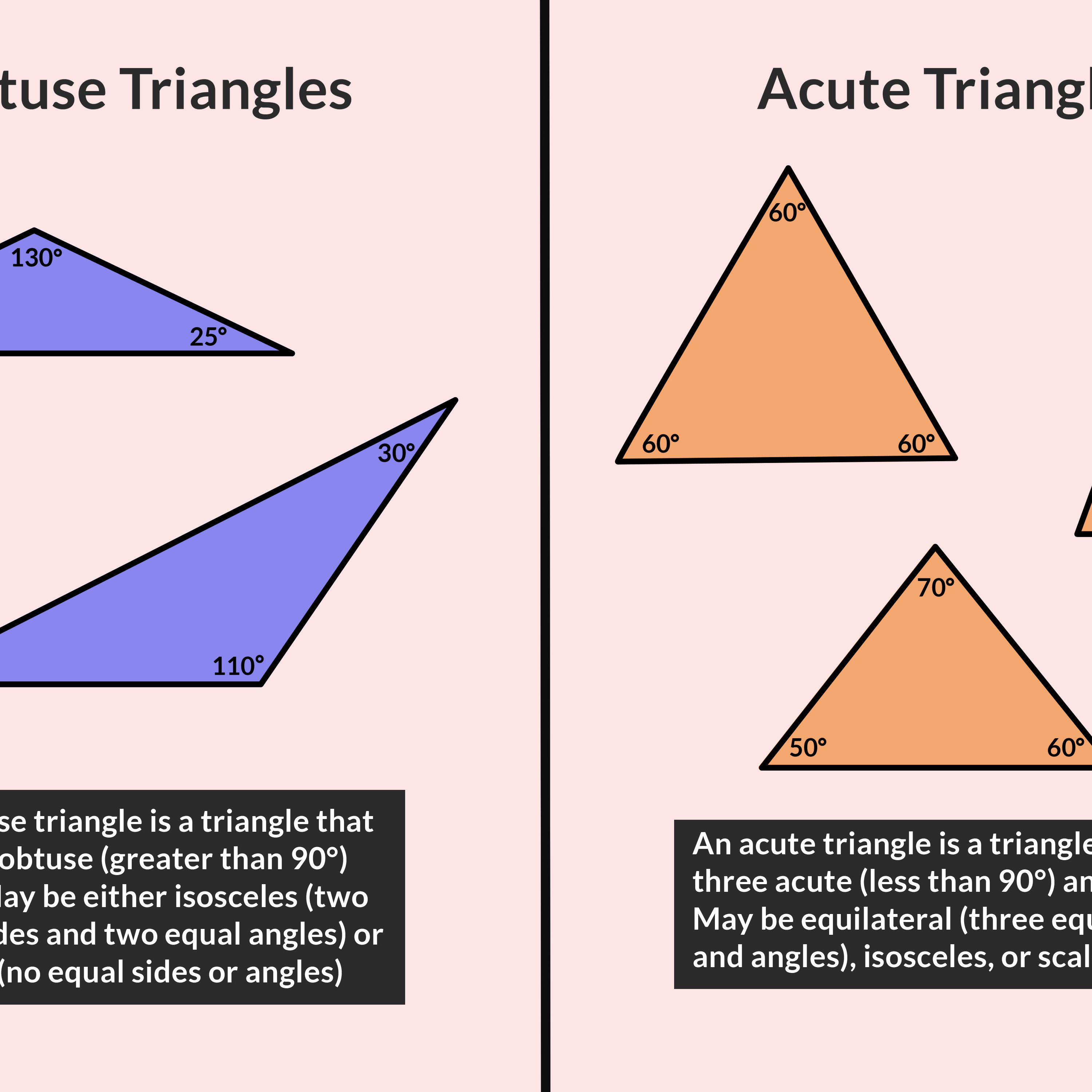 Obtuse Angle Definition Geometry