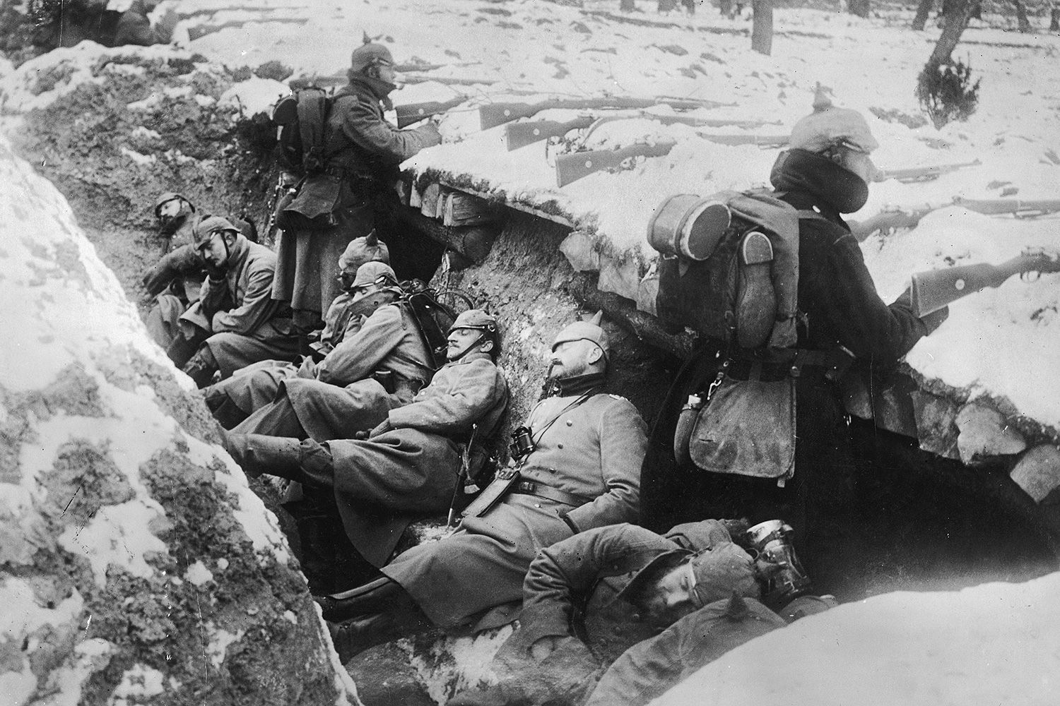 Why Trenches Were Used In World War I