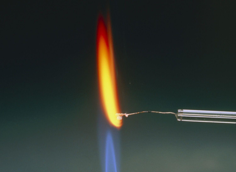 How To Do A Flame Test For Qualitativeysis