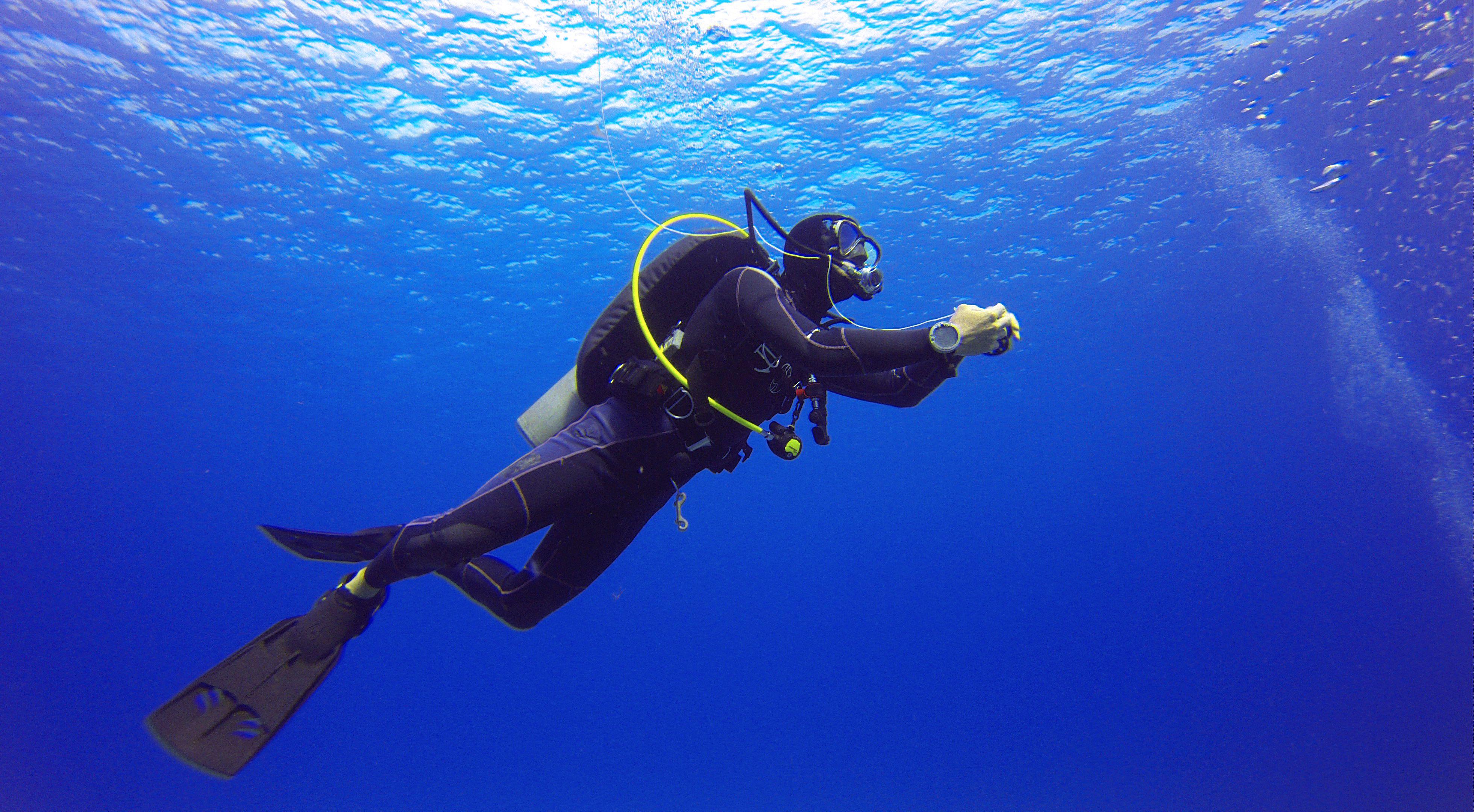 Open Water Referral Scuba Diving Certification