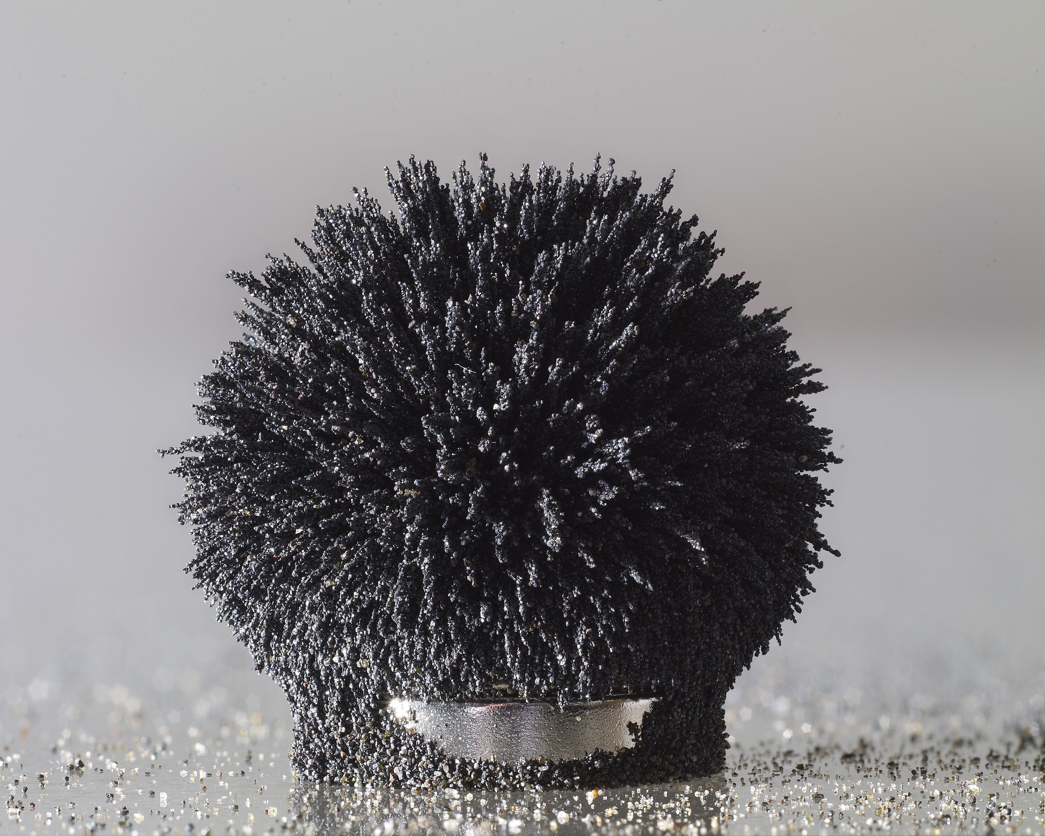 Not All Iron Is Magnetic Magnetic Elements