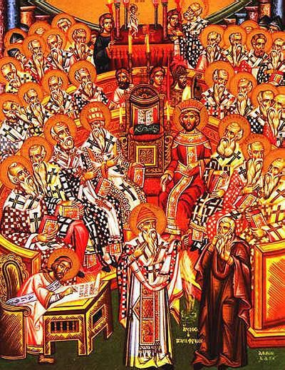 Image result for Nicaean council pictures