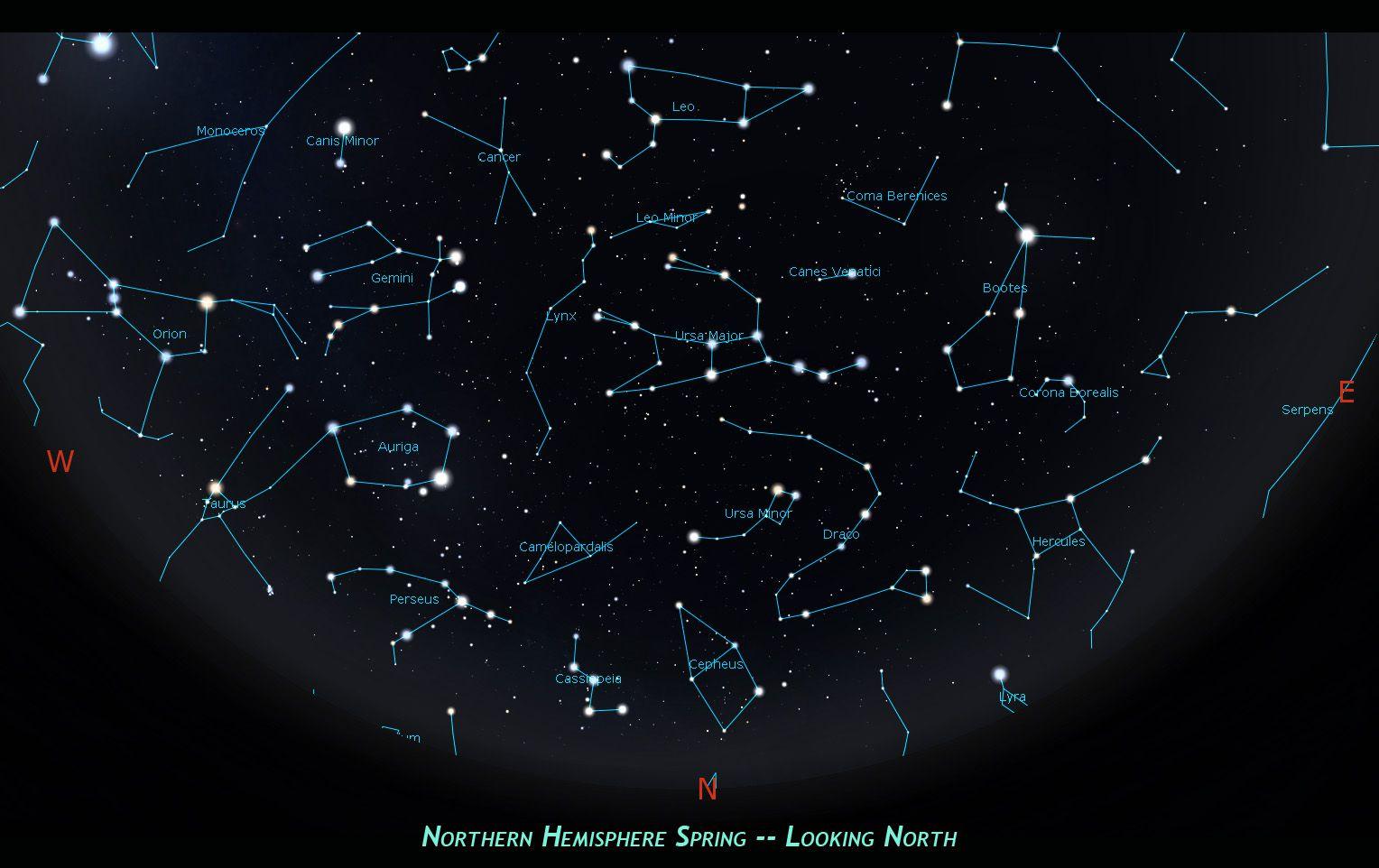 Hercules Constellation Location Stars Sky Objects