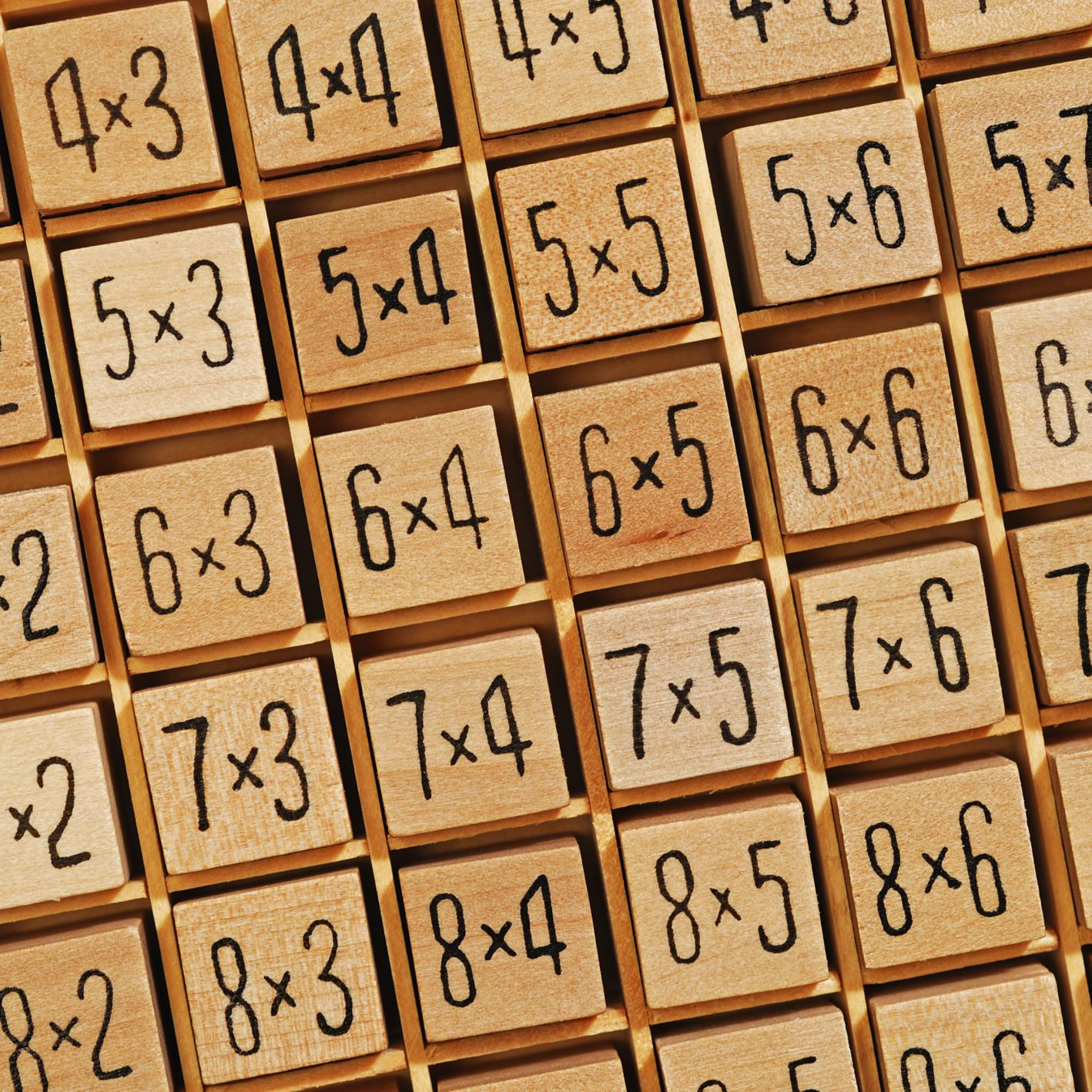 Teaching Times Tables Worksheets