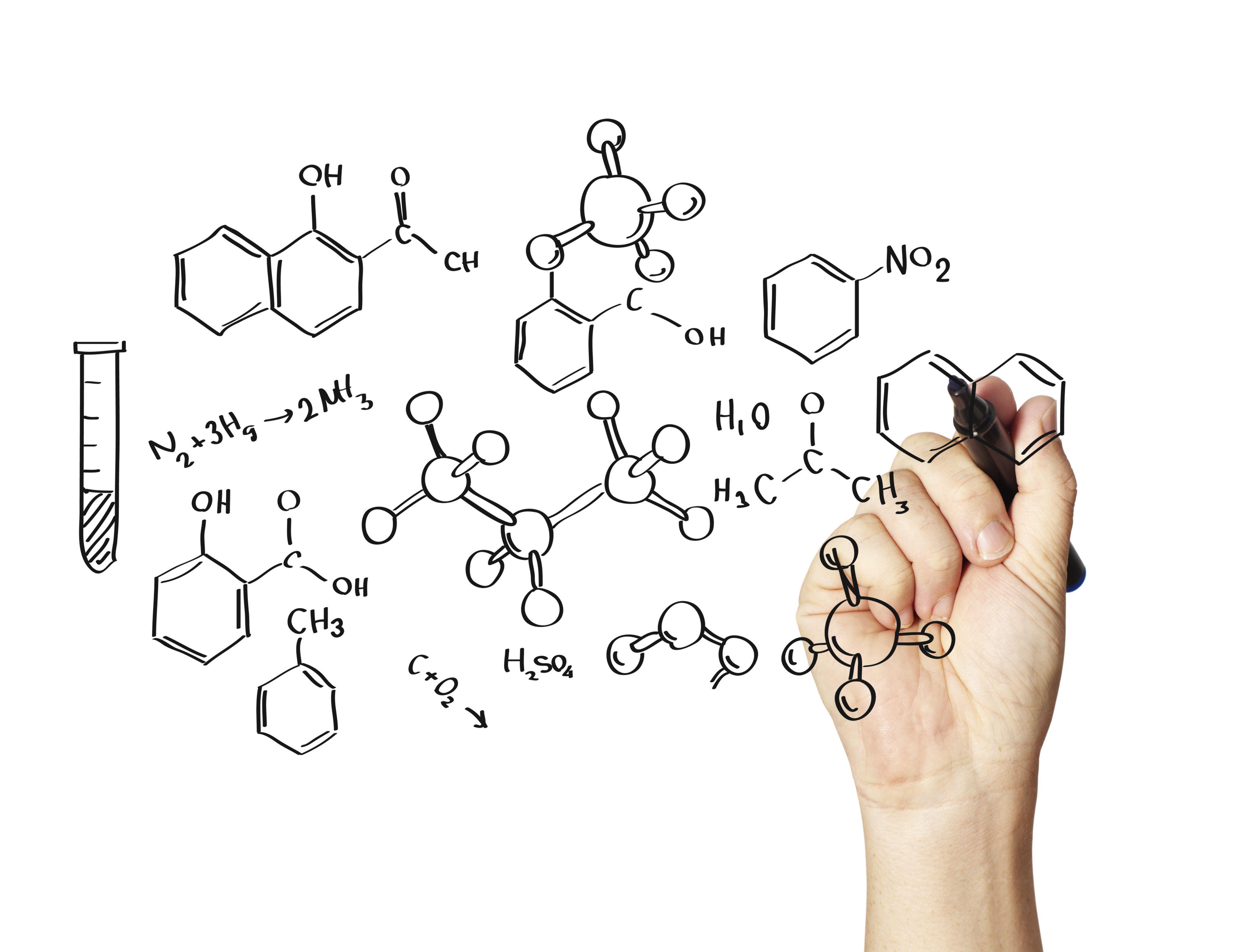 Chemical Formulas Practice Test Questions