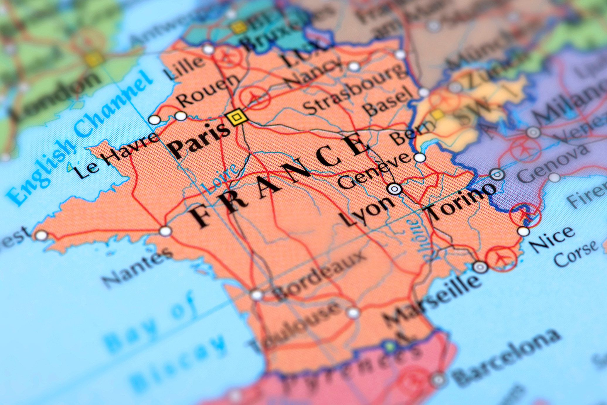 Geography And Information About France