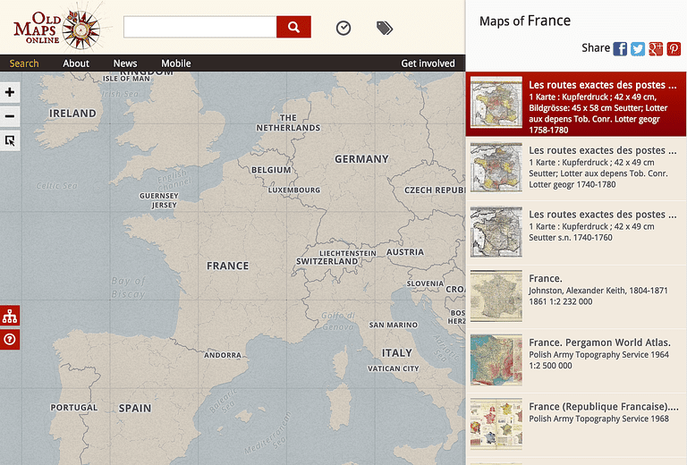 10 Don t Miss Historical Map Collections Online