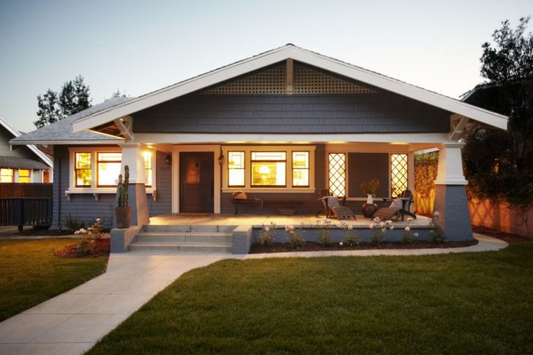 Photos of Small  Early 20th Century  Bungalow  Homes Craftsman style house  Getty Images Joe Schmelzer