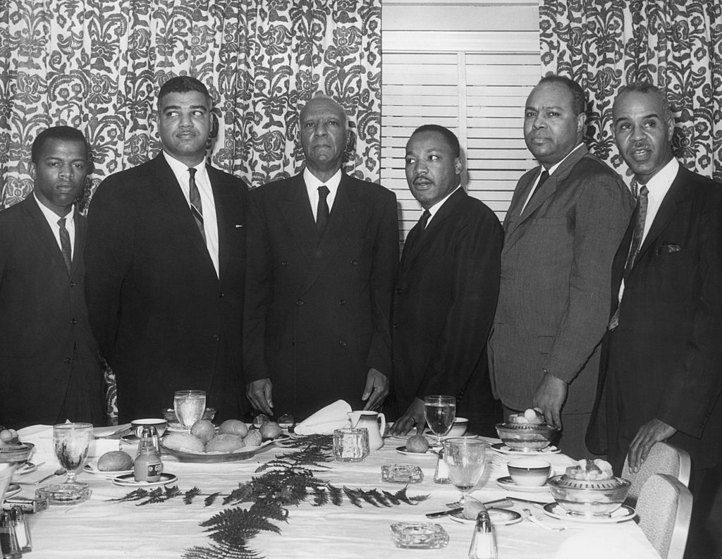 The Big Six Organizers Of The Civil Rights Movement