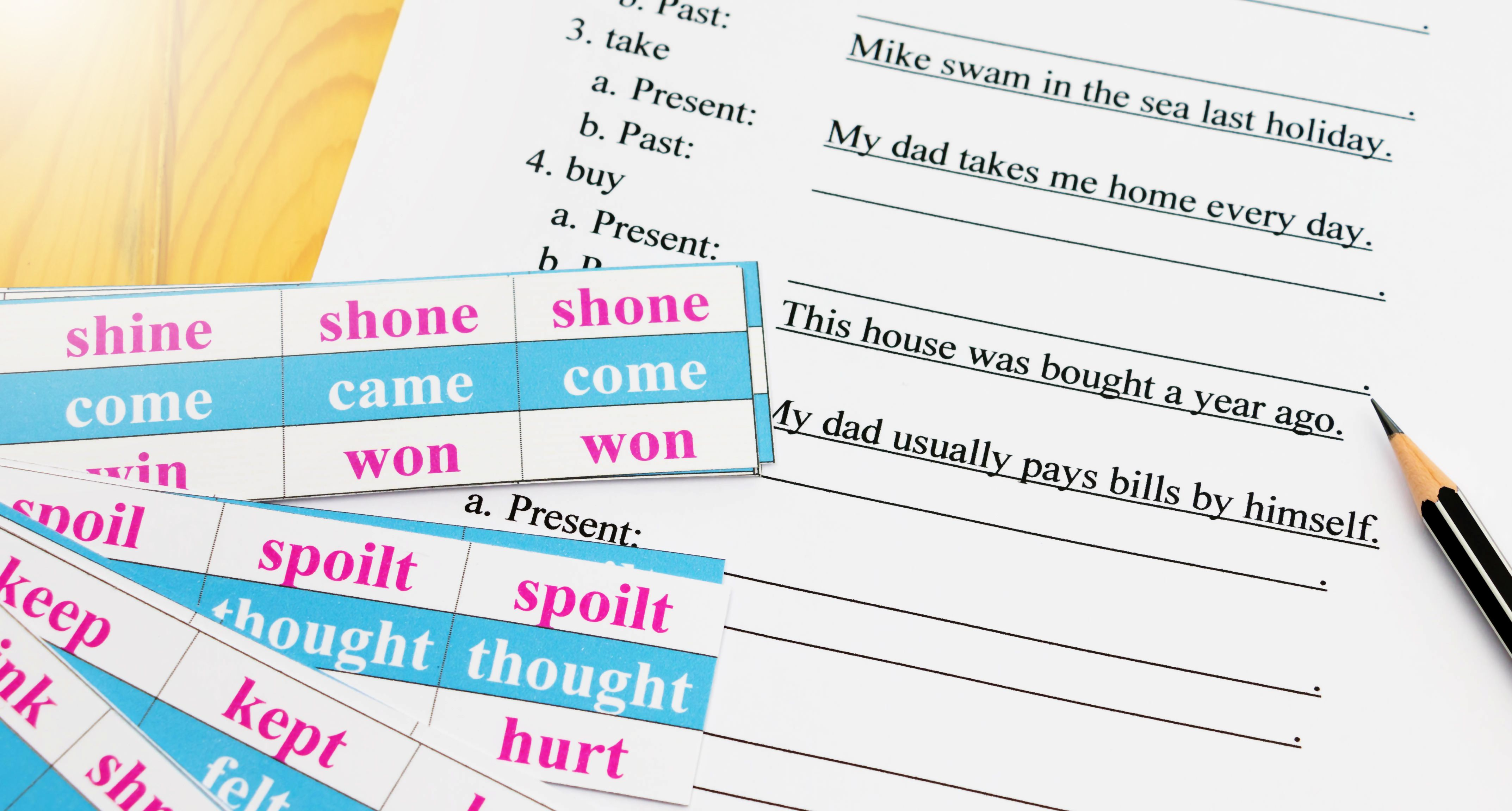 Past Participles In English Grammar