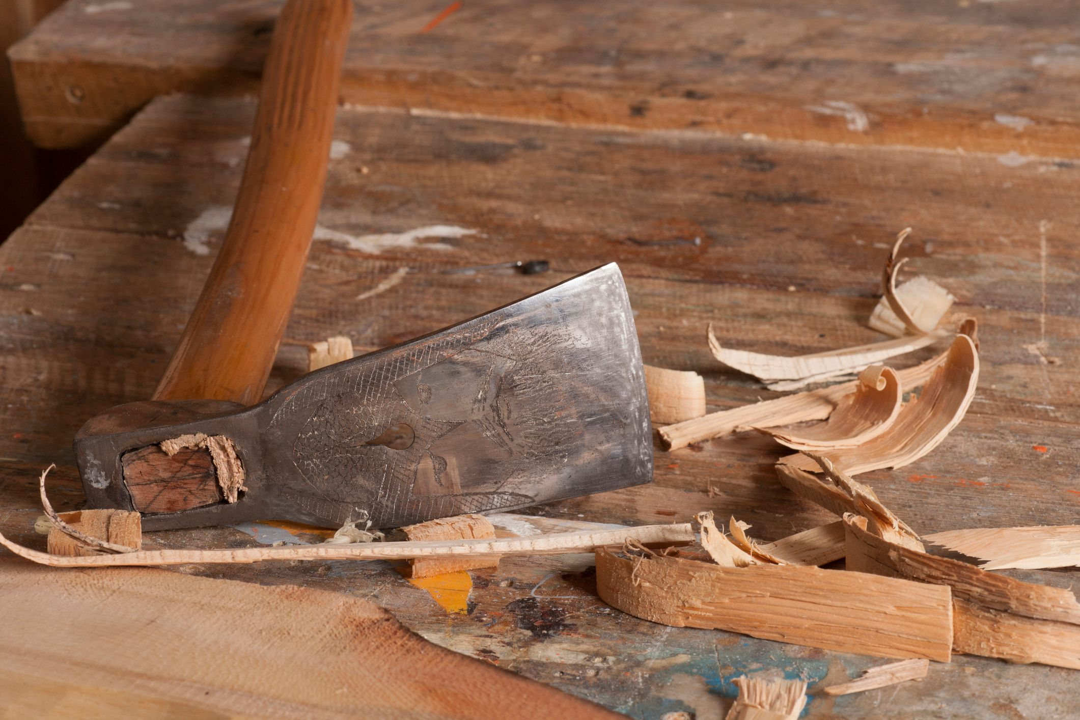 Adze A Tool For Working Wood
