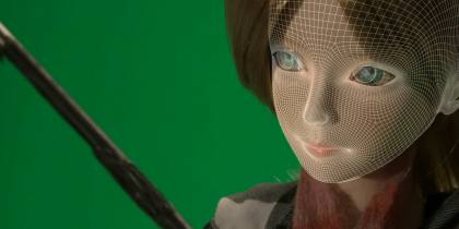 3D Facial Replacement for Stop Motion.