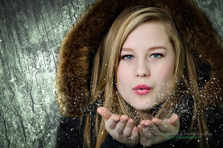 Glitter Portrait 1