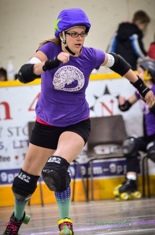 Big Hittin' in Little Britain – Roller Derby | Kawartha Lakes, Peterborough, Durham, Northumberland Photographer