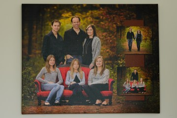 Beautiful new canvas on our wall….. | Family Portrait, Peterborough, Kawartha Lakes, Durham Photographer