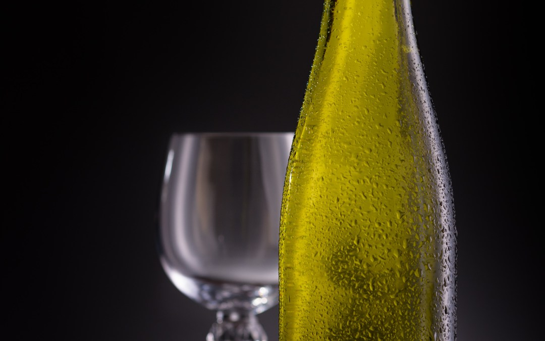 Wine Bottle Product Photography