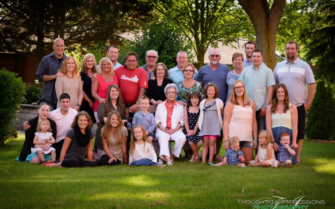 Multi Generation Family Portraits