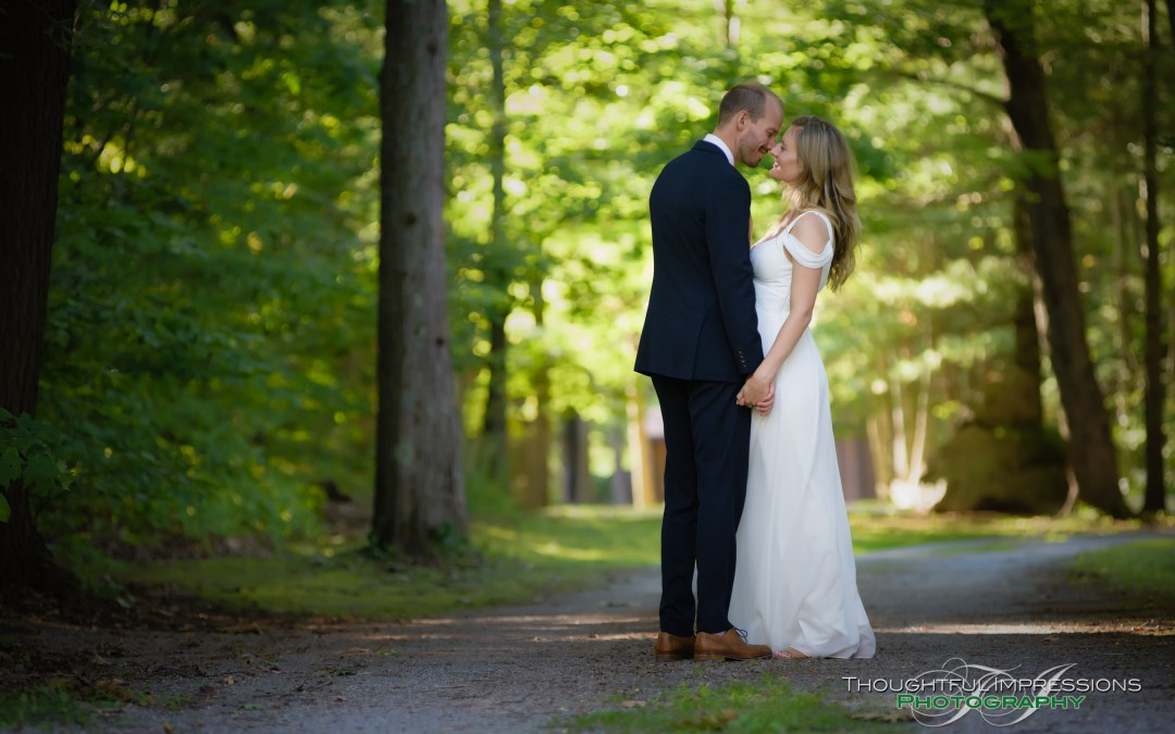 Ola & Matt – Buckhorn Lake wedding