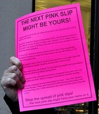 Pink Slip for a Layoff