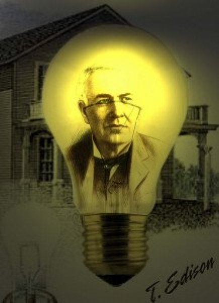Eureka Edison with Light Bulb