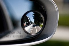 Blind Spot on Mirror