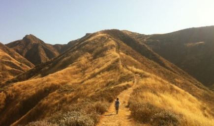 Hiking on a Long Trail