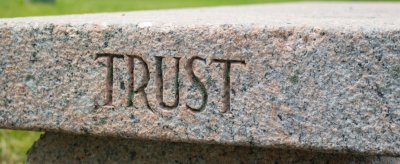 Trust Carved in Stone