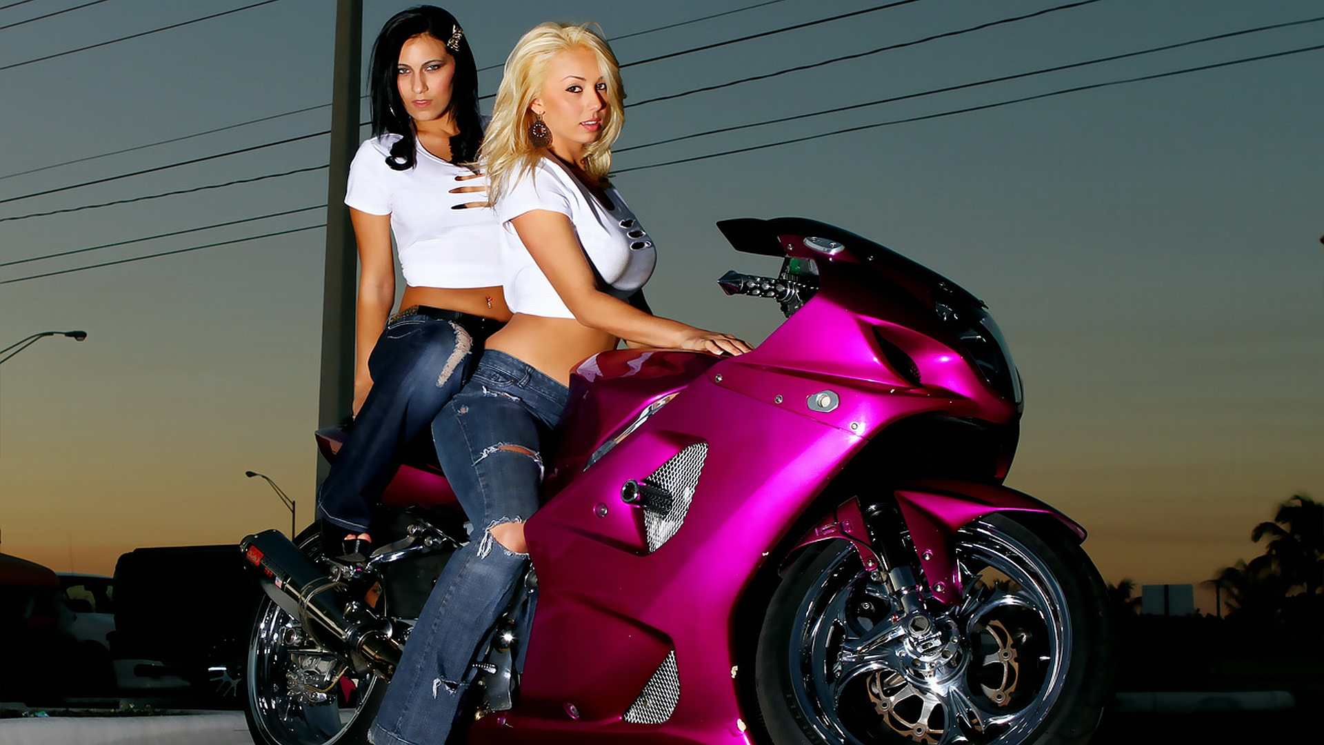 Image result for sports bike girls