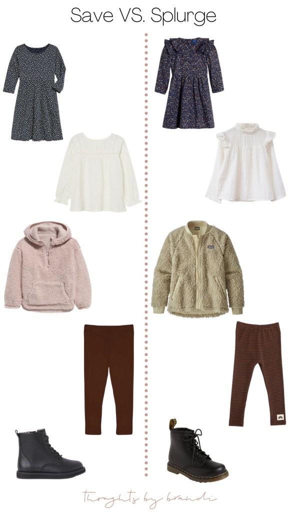SAVE | SPLURGE : Fall Girls Clothes