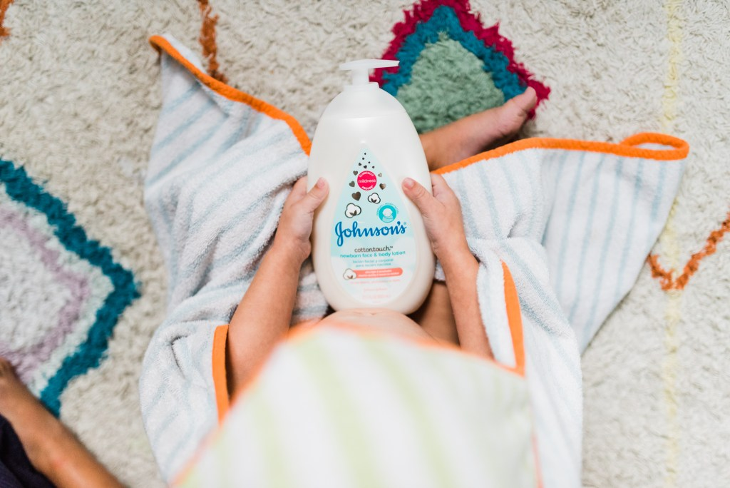 From Bed to Bath with Johnson's Cotton Touch | thoughtsbybrandi.com