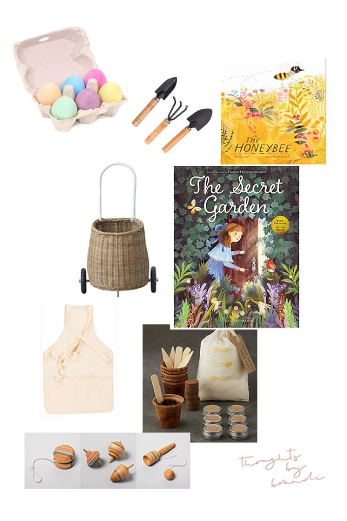 Garden Themed Easter Baskets