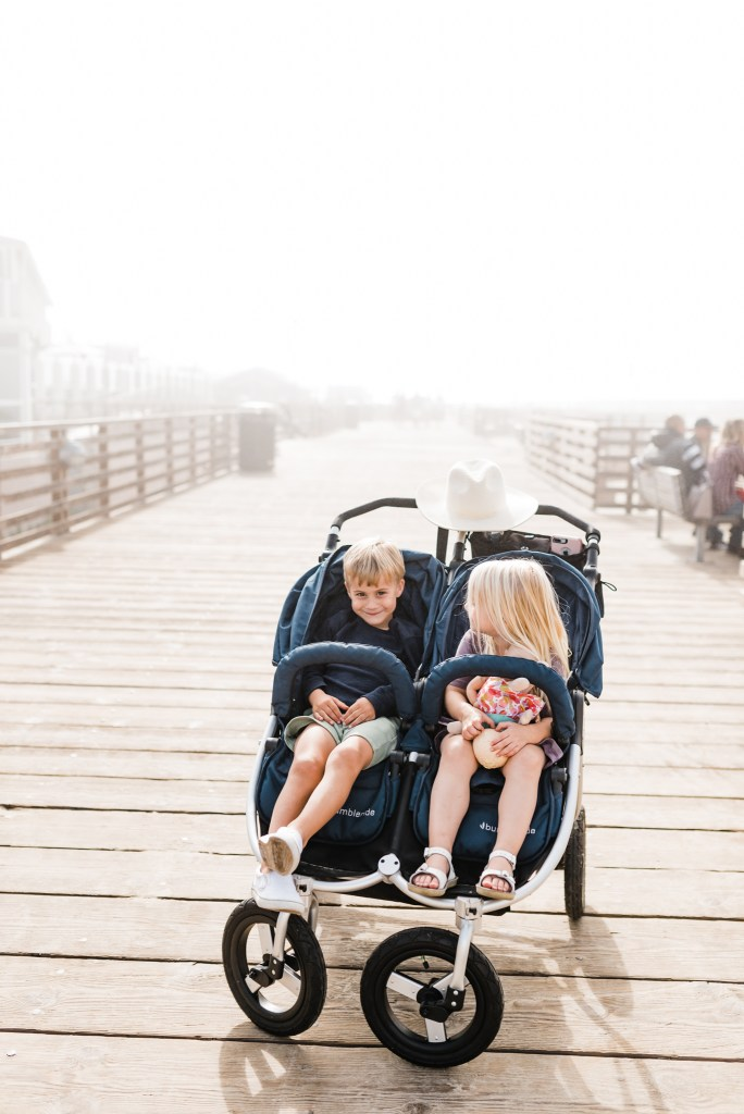 Bumbleride Indie Twin Review | Double Stroller | Thoughtsbybrandi.com