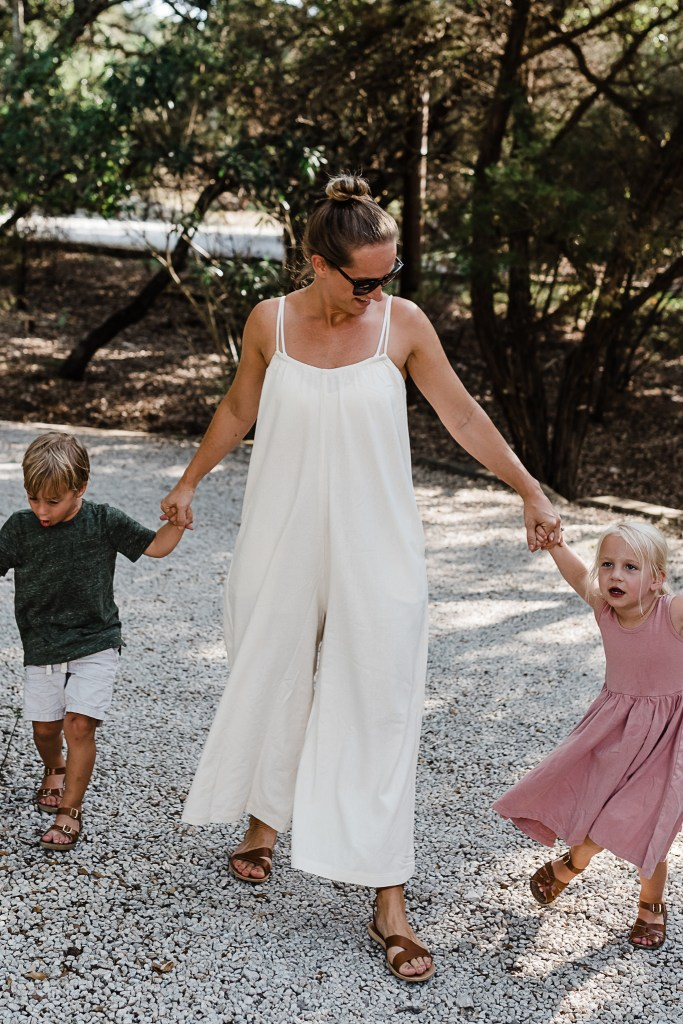 My thoughts on being Kid Free for a whole week plus a new favorite jumpsuit that I may never take off! | mom style | thoughtsbybrandi.com