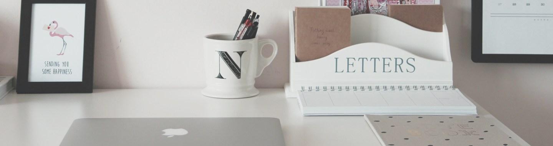 An Organized Desk Creates An Organized Mind   Back To School DIY