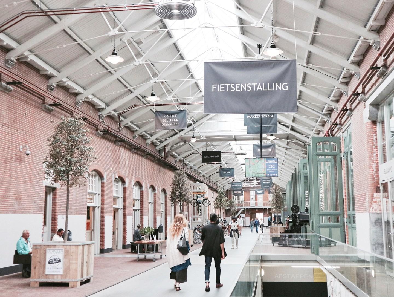 It's Just Like Chelsea Market In New York But In Amsterdam | De Hallen, Amsterdam