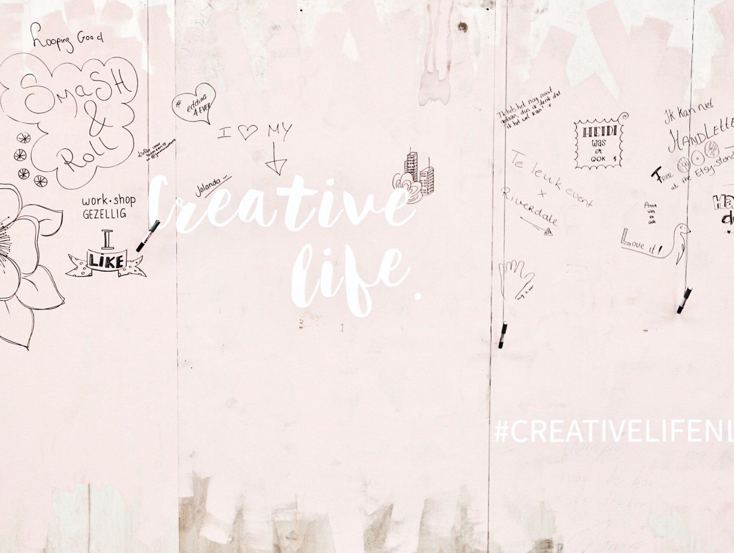 Being Creative Is Not A Hobby, It's A Way Of Life | Event: Creative Life, Utrecht