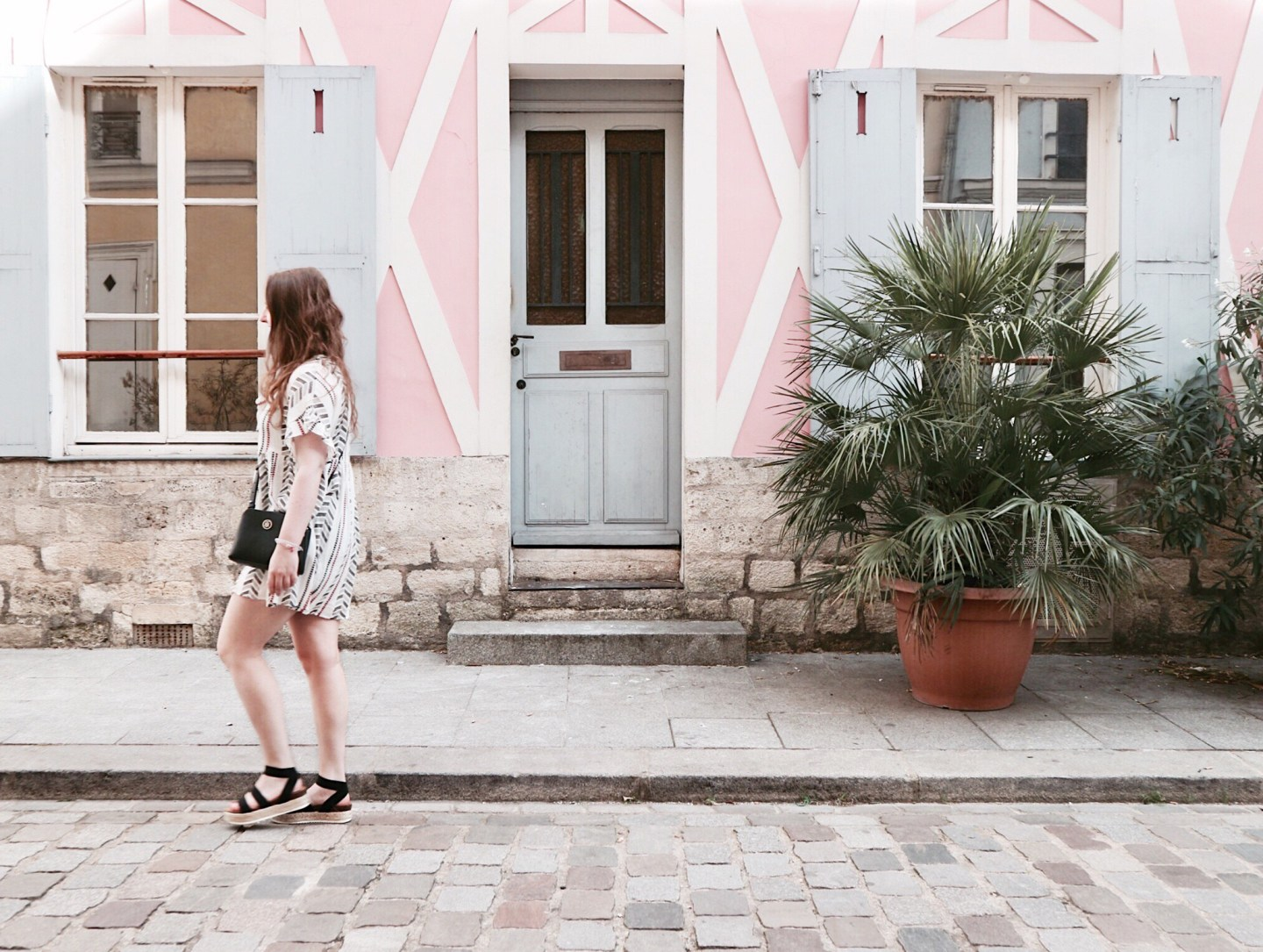 A Pastel Colored Heaven In Rue Crémieux | Outfit