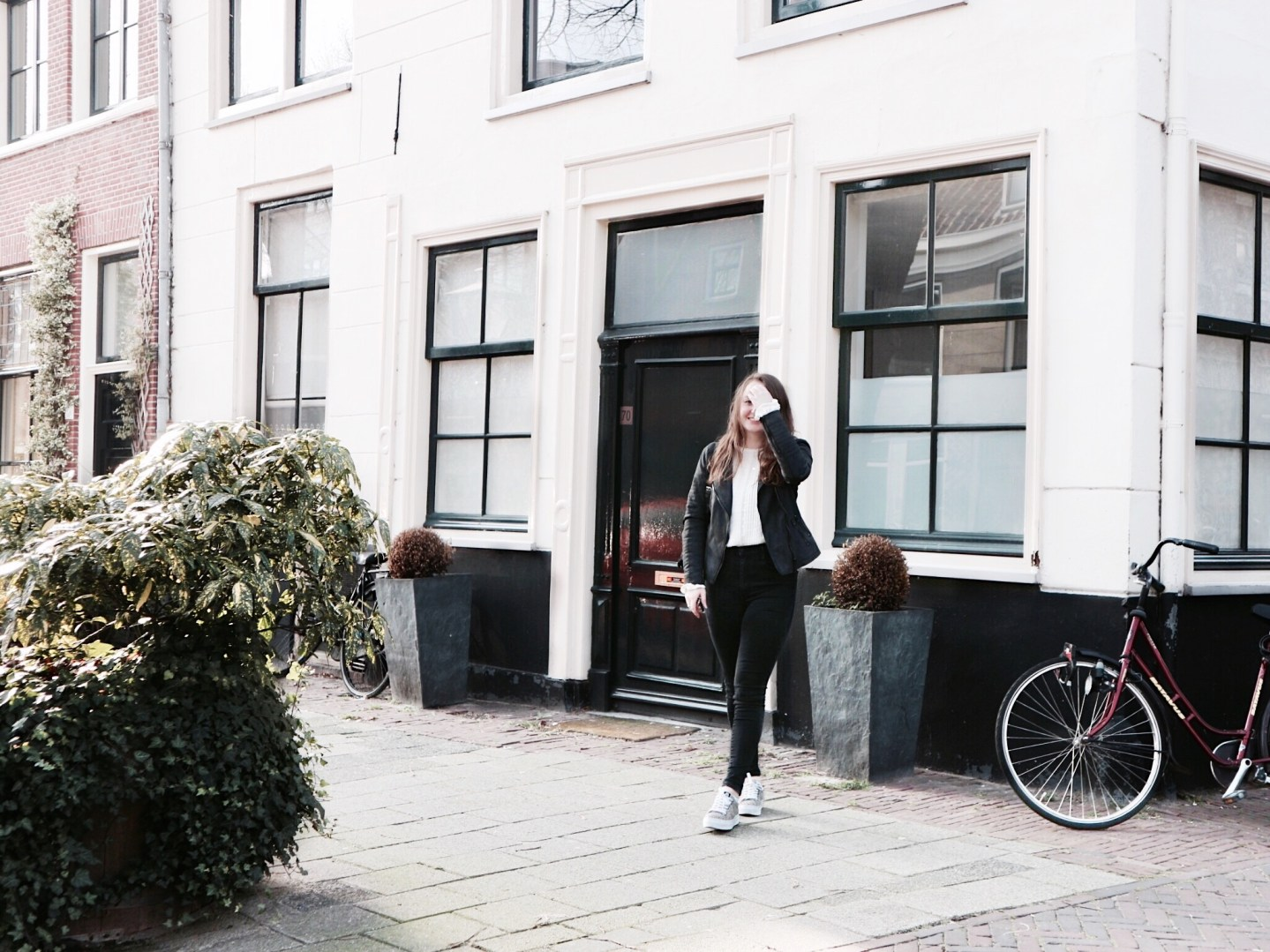 Bohemian Vibes With A Black & White Twist | Outfit