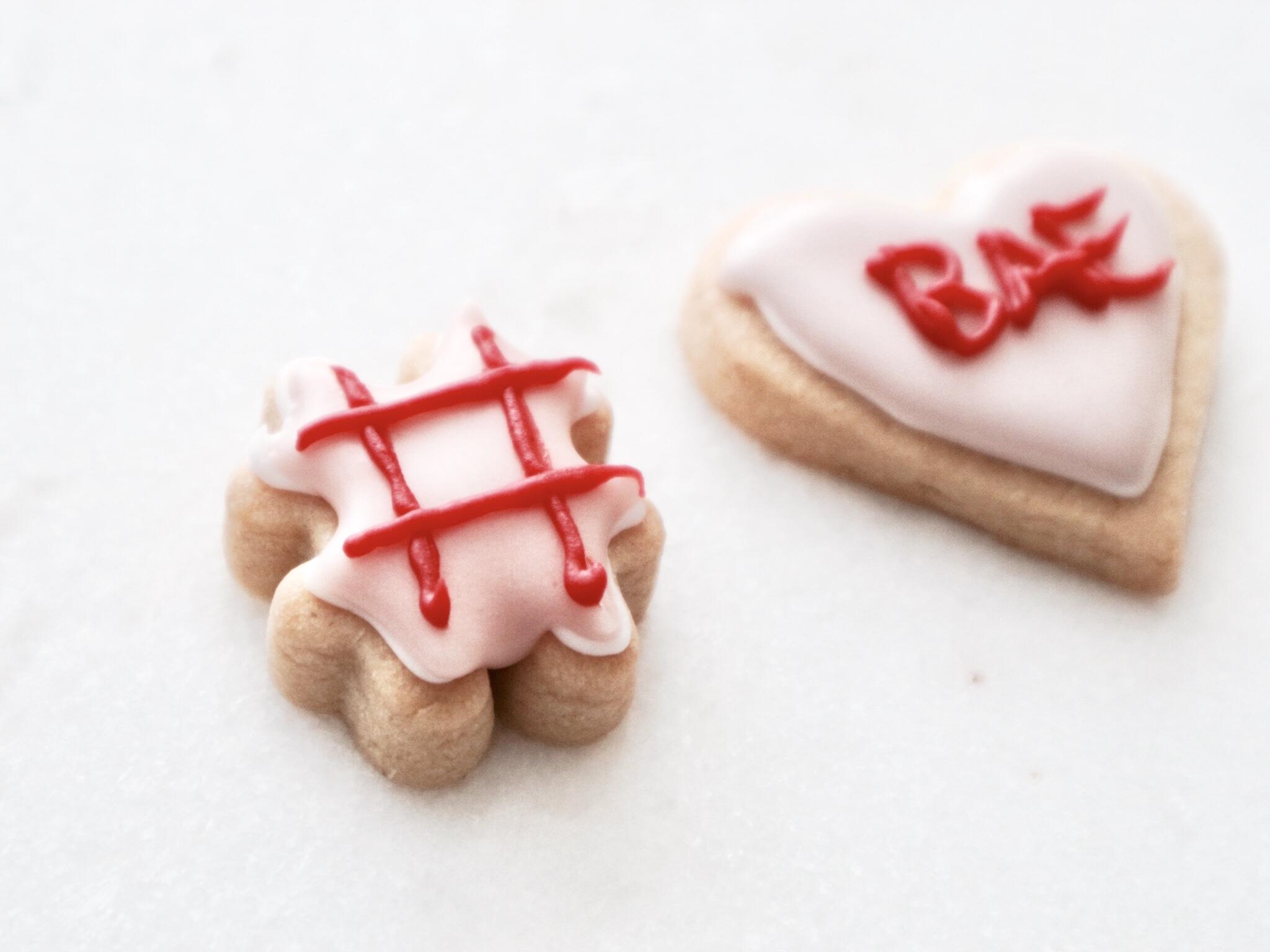 Self Love Valentines Day Cookies
