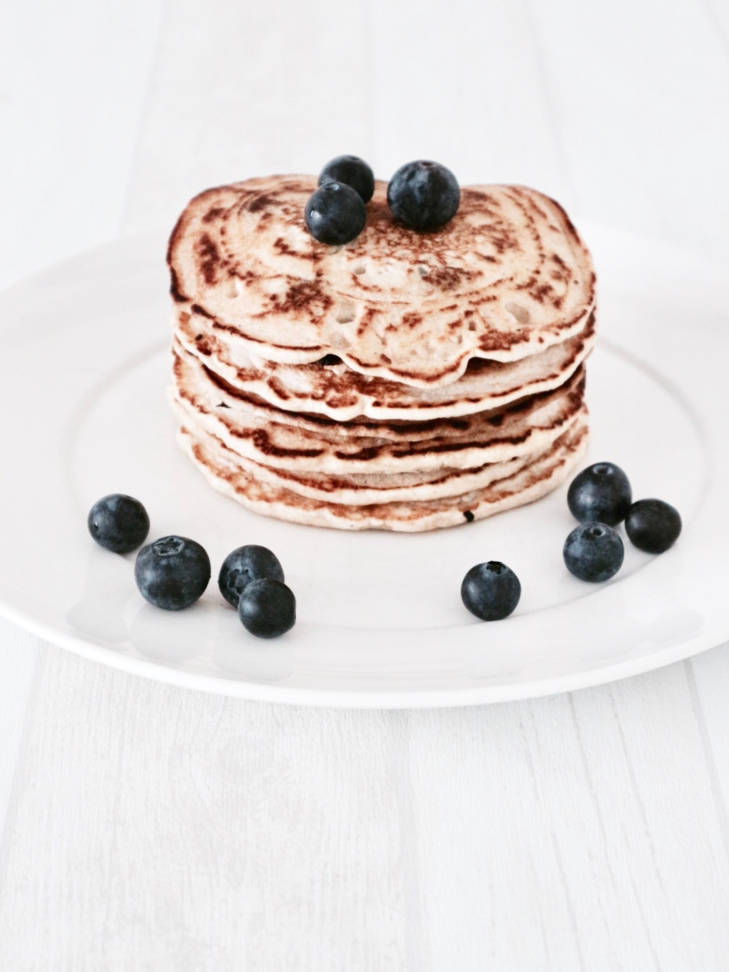 Life Is Better With Fluffy Pancakes | Vegan Blueberry Pancakes