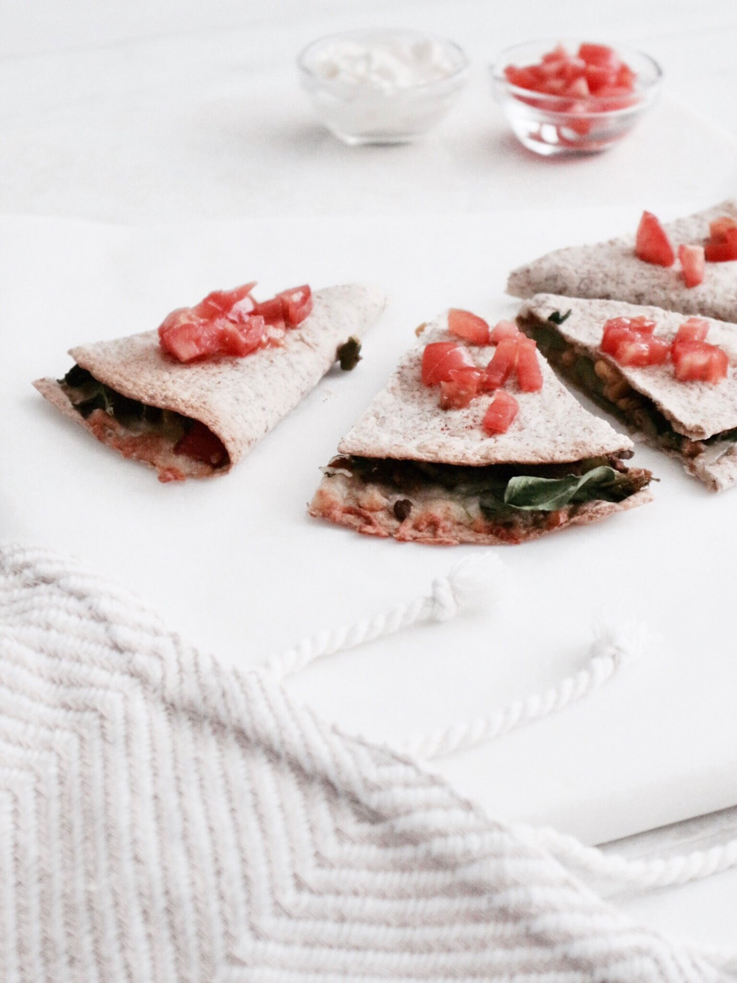 My Fave Easy & Healthy Dinner To Make | Vegetarian Quesadillas